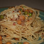 Meatless Monday: Olive, Lemon and Chickpea Pasta