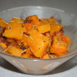 VeganMoFo: Roasted Butternut Squash