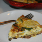 Summer Squash & Caramelized Onion Frittata